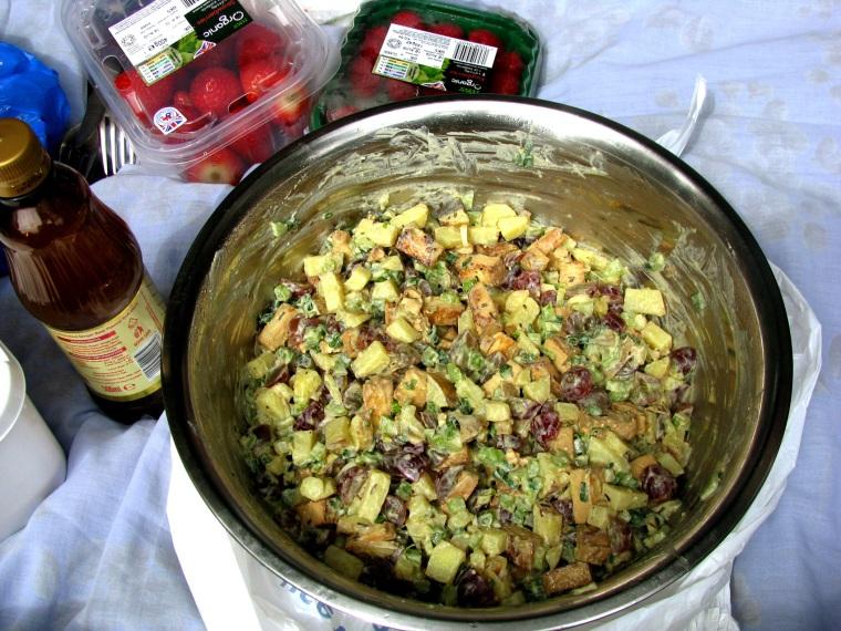 Minha salada preferida (uma das coisas mais deliciosas do mundo!).