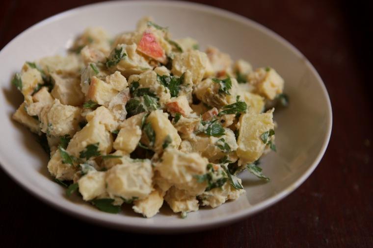 Salada de batata de Lila